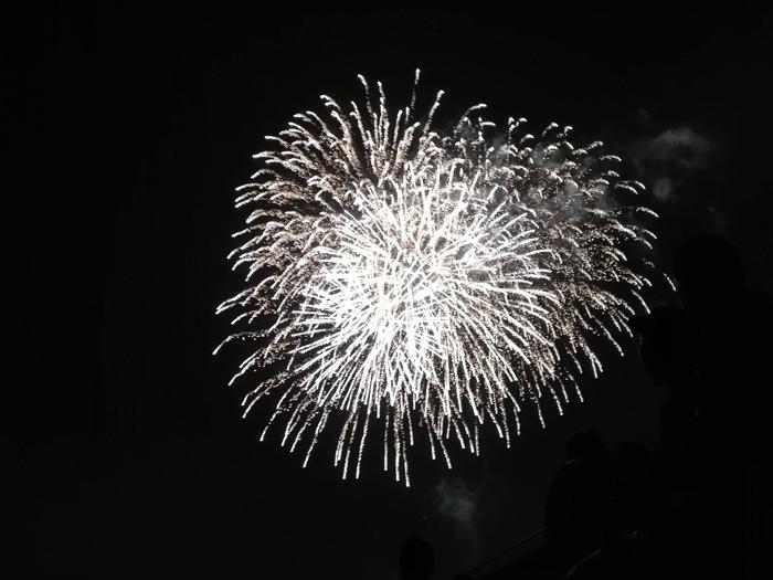 てだこ祭りの花火