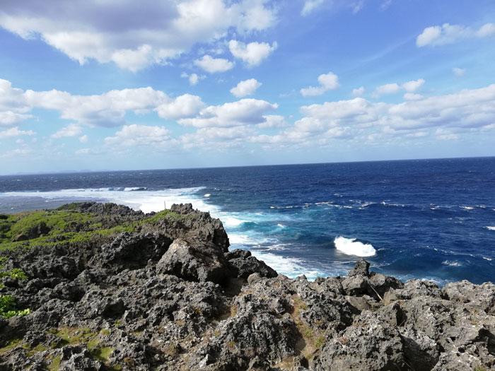 辺戸岬からの風景