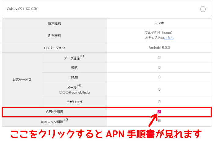 APN手順書確認方法